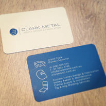 Rounded Buisness Card